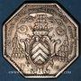 Coins Normandie. Clergé de Rouen. de la Rochefoucauld, archevêque. Jeton argent 1778