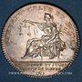 Coins Normandie. Dieppe, prieurs et juges consuls. Jeton argent 1758