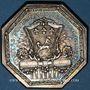 Coins Normandie. Mairie de Rouen. Bigot de Sommesnil. Jeton argent 1779