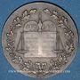 Coins Notaires. Département de la Vienne. Jeton argent 1902. Poinçon : corne d'abondance
