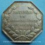 Coins Notaires. Dieppe. Jeton argent 1852. Poinçon : abeille