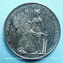 Coins Notaires. Lyon. Jeton argent 1830. Poinçon : lampe