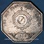 Coins Notaires. Lyon. Jeton argent 1839. Poinçon : lampe