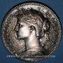 Coins Notaires. Paris. Jeton bronze argenté