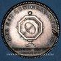 Coins Notaires. Paris. Louis XVI. Jeton argent. Gravé par Droz