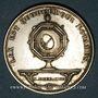 Coins Notaires. Saint-Etienne. Jeton argent 1886. Poinçon : corne d'abondance