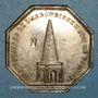 Coins Notaires. Vienne. Jeton argent 1837. Poinçon : corne d'abondance
