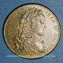 Coins Ordinaire des Guerres. Louis XV (1715-1174). Jeton laiton 1715