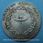 Coins Ordre du Saint-Esprit. Louis XV. Jeton argent 1740