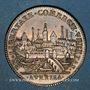 Coins Orleanais. Communauté des marchands de la Loire. Jeton argent 1735