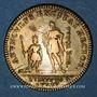 Coins Orléanais. Louis XV, Philippe d'Orléans, régent (1715-1773). Jeton laiton