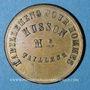 Coins Paris (75). A Jeanne d'Arc (51 rue Rambuteau), Habillemens pour Hommes, Husson, Tailleur. Jeton