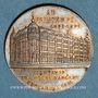 Coins Paris (75). Au Printemps (Bd Haussmann) - 25e anniversaire. 1890. Jeton publicitaire