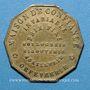 Coins Paris (75). C. Detouche. Horlogerie, bijouterie, joaillerie, orfèvrerie. Jeton publicitaire