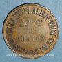 Coins Paris (75). Crayon Mengin. Jeton publicitaire