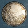 Coins Paris. Académie des Sciences. Louis XVI. Jeton argent