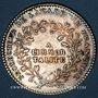 Coins Paris. Académie Française. Louis XV. Jeton argent