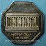 Coins Paris. Agents de change. Napoléon I. Jeton argent 1813. Octogonal