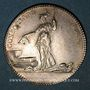 Coins Paris. Architectes - Louis XVI. Jeton argent