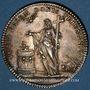 Coins Paris. Assemblée du Clergé de France. Jeton argent 1735