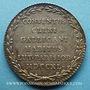 Coins Paris. Assemblée du Clergé de France. Jeton argent 1740