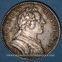Coins Paris. Assemblée du Clergé de France. Louis XV. Jeton argent 1750. R !