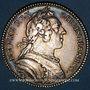 Coins Paris. Assemblée du Clergé de France. Louis XV. Jeton argent 1750