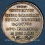 Coins Paris. Assemblée du Clergé de France. Louis XV. Jeton argent 1762