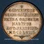 Coins Paris. Assemblée du Clergé de France. Louis XV. Jeton argent 1768