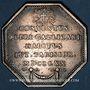 Coins Paris. Assemblée du Clergé de France. Louis XV. Jeton argent 1770