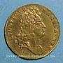 Coins Paris. Bâtiments du Roi. Louis XIV. Jeton cuivre n. d.
