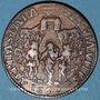Coins Paris. Cabaretiers. Jeton cuivre 1660