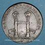 Coins Paris. Chambre aux Deniers. Jeton cuivre 1658