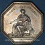 Coins Paris. Chambre des avoués du tribunal de 1ère instance. Jeton argent 1801