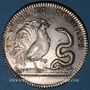 Coins Paris. Collège de pharmacie. Jeton argent 1778
