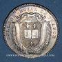 Coins Paris. Collège Royal de France. Louis XVI. Jeton argent