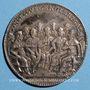 Coins Paris. Concile des évêques de France. Jeton argent 1675