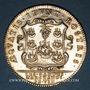 Coins Paris. Corporation des gardes-marchands de vins. Jeton argent