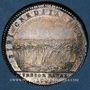 Coins Paris. Corporation des Teinturiers. Jeton argent hybride 1749