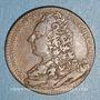 Coins Paris. Faculté de Médecine. Reneaume M. (1734-35-36). Jeton cuivre