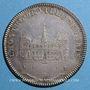 Coins Paris. Hôtel de Ville. Louis XVI. Jeton argent n. d.