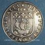 Coins Paris. Jérôme Le Féron, prévôt des marchands. Jeton argent 1647