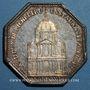 Coins Paris. La Sorbonne. Louis XVI. Jeton argent 1642