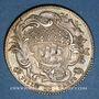 Coins Paris. Louis Bazile de Bernage, prévôt des marchands. Jeton argent 1744