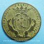 Coins Paris. Nicolas Desmaretz. Jeton cuivre 1712