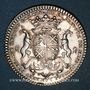 Coins Paris. Nicolas Lambert, prévôt des marchands. Jeton argent 1725