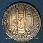 Coins Paris. Parties Casuelles. Jeton laiton 1677