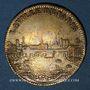 Coins Paris. Série Municipale. Louis XIV (14643-1715). Jeton laiton