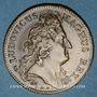 Coins Paris. Trésor royal. Louis XIV. Jeton cuivre 1708