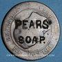 Coins PEARS' SOAP. contremarqué sur 10 cmes 1854